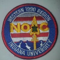 Boy Scout OA 1990 NOAC Western Region Patch