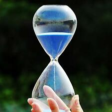 Colorful sand glass sandglass hourglass timer 5/10/30/60minutes 8 Colors  ぴ
