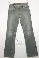 Lee zampa grigio (Cod. E24) Tg45 W31 L34 jeans usato Vita Alta Vintage Vegan