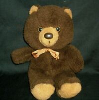 VINTAGE SPECIAL TOUCH BROWN TEDDY BEAR DAN DEE STUFFED ANIMAL PLUSH TOY LOVEY