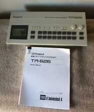 Roland TR-626 MIDI Rhythm Composer Drum Machine w/ Manual