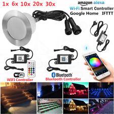 RGB/RGBW WIFI Bluetooth LED Einbaustrahler Außenlampe Beleuchtung Terrasse Spot