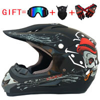 Casco da Motocross Off Road Casco ATV Dirt Bike Downhill Racing CapacetesIE