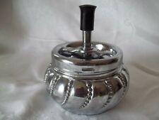 Vintage Metal Spinner Metal Ashtray Nice Condition