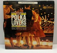 Johnny Vadnal and Orchestra Discotheque for Polka Lovers Vintage Vinyl LP VG