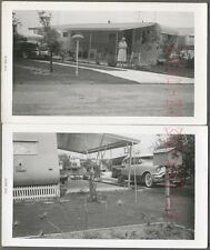 Vintage Photos 1956 Oldsmobile 98 Holiday Car & Travel Travel Mobile Home 724141