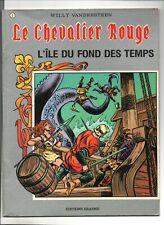 VANDERSTEEN. Le Chevalier Rouge n°3. L'île du fond des temps. Ed. ERASME 1985
