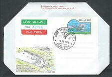 1979 ITALIA AEROGRAMMA AEREO ITALIANO FDC