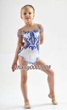 rhythmic gymnastics leotard.Aerobic gymnastics Twirling competition dance dress