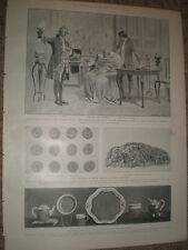 play The Clandestine marriage at The Haymarket Theatre London 1903 old print