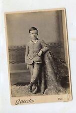 CABINET CARD,Vintage Photo,  Cute Young Boy, Warren, PA