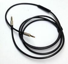120cm 3.5mm-2.5mm male Cable Remote & Mic for iphone to Bose oe2 oe2i Headphone