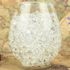 1000pcs Clear Crystal Soil Water Balls Bead Gel Ball for Wedding Party Decor