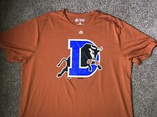 Majestic Carolina Mudcats Minor League 2-Button Mens Jersey T-Shirt