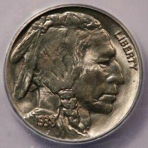 1938-D 1938 Buffalo Nickel ICG MS66 Buffalo