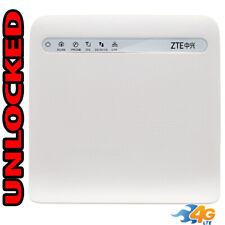 Wi-Fi Router GSM 4G LTE UNLOCKED ZTE MF253 (LTE USA Latin Caribbean) LAN + RJ11