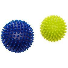 Blu/giallo 9 Hudora 7676 Palla per massaggi Pacco da 2 Sport (khl)