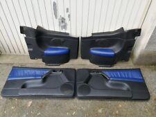VW Golf 4 Cabrio Türverkleidung Türpappen Leder
