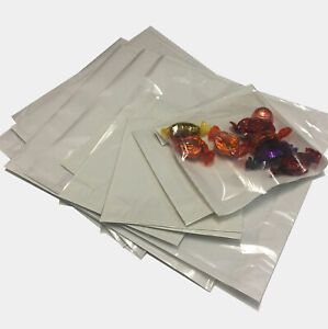 Film Front Paper Bags Cellophane Window Clear Sandwich Food Card Cake Clear