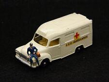 Vintage Lesney Matchbox Lomas Ambulance No. 14 14C with Driver!