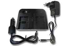 CAMCORDER Akku-Ladegerät DUAL für SONY Handycam DCR-HC1 / DCR-HC1E