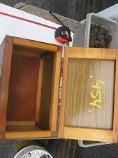 Vintage Wooden CUSTOM HANDMADE  Tool Box EXC CONDITION