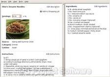 Pr recette Gestionnaire Digital Cook Book ordinateur Organisateur nouveau programme Logiciel sur c
