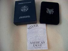 2003 American Eagle 1 oz. Silver Dollar Proof with COA