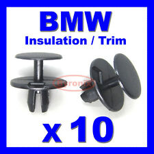 BMW BONNET BOOT SOUND INSULATION TRIM CLIPS 3 5 7 E30 E32 E34 E38 E39 E65 E66