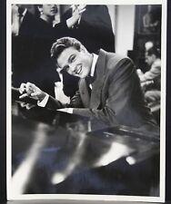 "VINTAGE 8""X10"" PHOTO MGM RHAPSODY JOHN ERICSON ORIGINAL 1953 HOLLYWOOD HEP-CAT"