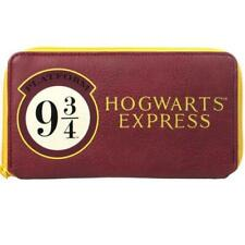 Harry Potter Hogwarts Express Women Girls Coin & Card Clutch Purse Wallet 9 3/4