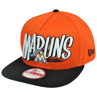 elegant shoes speical offer nice shoes New Era Miami Marlins 9FIFTY Tribal A-Frame Sun Buckle Orange Flat ...