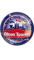 Alton Towers Tickets x 2 valid for Monday 7th May 2018 - BANK HOLIDAY