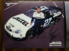 (2) Ryan Newman Signed 8x10 Autographed NASCAR Photos