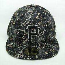 NEW Era MEN'S MLB Pittsburgh Pirates Squadra ZODIAC 5950 montato Cap - 7 1/2