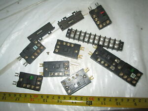 8 HO Scale Atlas Control switches.
