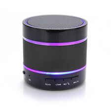 Portable Mini Bluetooth Wireless Speaker Support FM Radio with LED Dancing Light