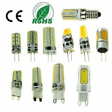 Dimmable G9 G4 E14 LED COB SMD Bulbs Light Lamp Capsule Cool/Warm/Natural White