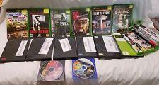 Lot of 19 Original Xbox Games Great Games! Combat, Racing, Shooting, Sports, etc