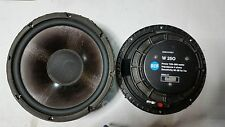 2 x Woofer RCF W 250 25cm power 150-300 W impedenza 4ohms sensitivity 96db 1w 1m