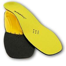 #F Superfeet Yellow Insoles Inserts Low Medium Arch Size Men 11.5 13 Women 12+