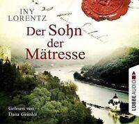 INY LORENTZ - DER SOHN DER MÄTRESSE  6 CD NEU