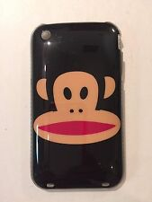 Iphone 3G Paul Frank Monkey Black Hard Plastic Clear Phone Cover Case New