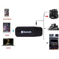 3.5mm AD2P Stereo Audio Music Speaker Receiver Adapter Dongle USB Bluetooth New