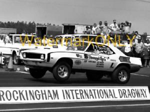 """Bill ""Grumpy"" Jenkins"" 1969 Chevy Camaro Pro Stocker PHOTO! #(10)"