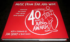 40 YEARS JUNO AWARDS MUSIC CANADA CANADIAN Musicians LEONARD COHEN PSYCHEDELIC