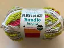 Yarnspirations Bernat Bundle Brights Yarn 8.8 Oz 207 Yds Skein Posie Pop