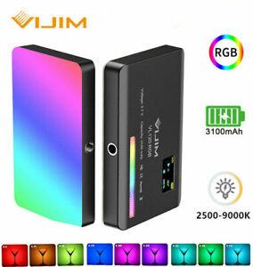 VIJIM VL120 RGB LED Video Light Camera Vlog Fill Lights For Photography Lighting