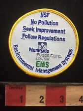 North Side Food Corp Environmental Management System NSF Patch S74P