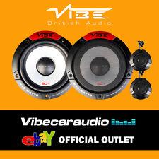 """Vibe Pulse 6C V4 16.5cm 6.5"""" 240 Watts 2 Way Door Component Speakers FREE P&P"""